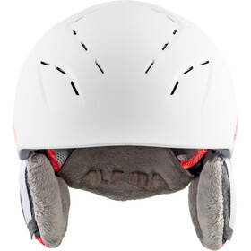 Alpina Spice Casco de esquí, white-flamingo matt